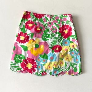 Lilly Pulitzer Ants On Parade Floral Mini Skirt 2